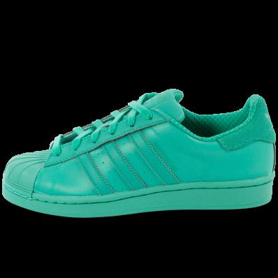 adidas femme superstars vert