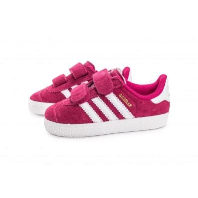 adidas gazelle rose bebe fille