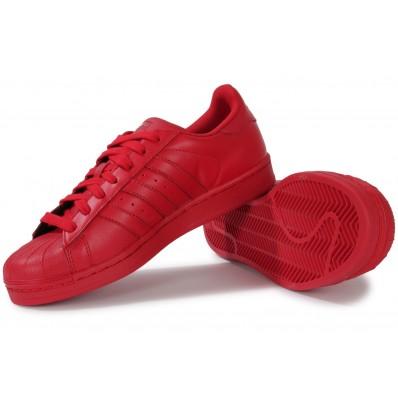 adidas rouge superstar femme