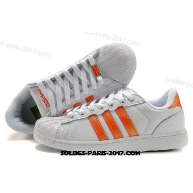 adidas superstar femme orange
