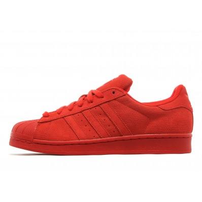 adidas superstar hommes rouge