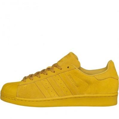 adidas superstars jaune