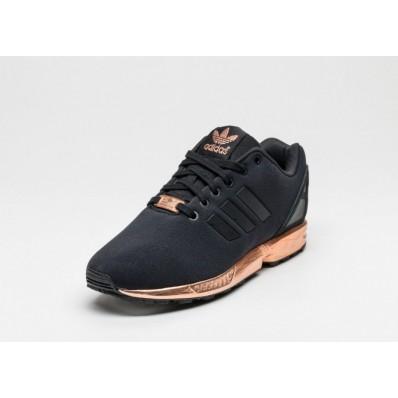 adidas zx flux black copper
