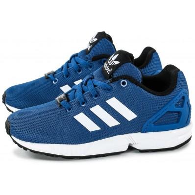adidas zx flux enfant bleu