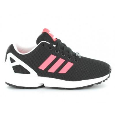 adidas zx flux noir et rose femme