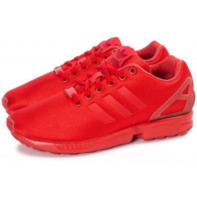 basket adidas zx rouge
