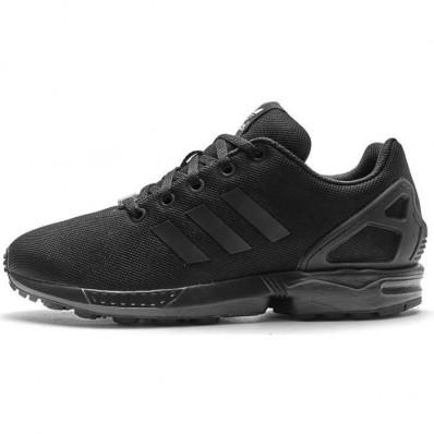basket femme adidas zx flux noir et blanche