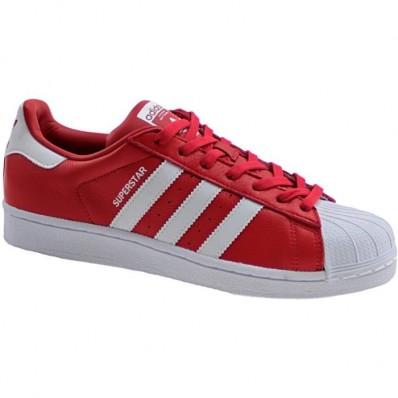 baskets adidas superstar rouge