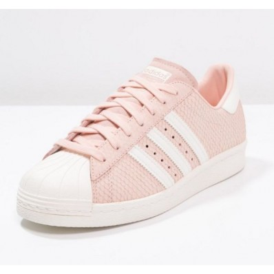 chaussure adidas superstar femme rose