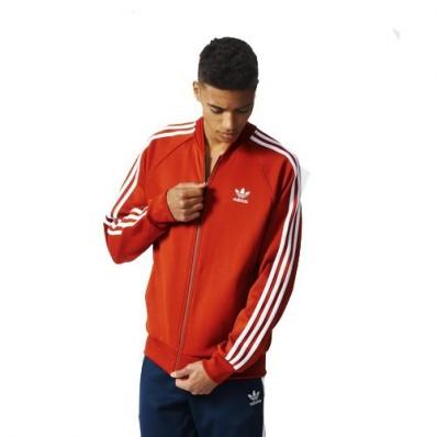 veste adidas superstar rouge