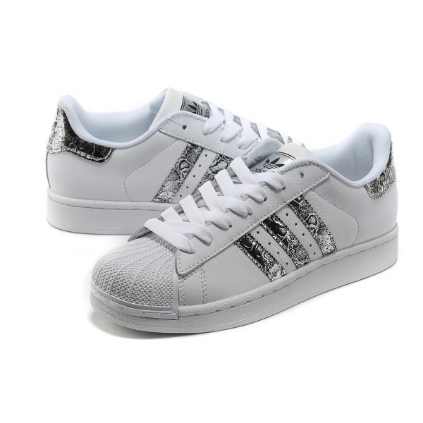 basket superstar adidas femme blanche et grise,Chaussures ...